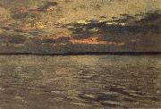 Levitan, Isaak Lake evening oil painting picture wholesale